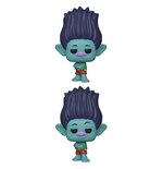 Trolls World Tour POP! Movies Vinyl Figures Branch 9 cm Assortment (6)