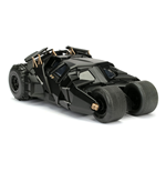 DC COMICS Batman 2008 The Dark Knight Movie Tumbler Batmobile Metals Die-cast Toy Car with Batman Die-cast Figure, Unisex, 1:24 Scale, 8 Years or Above, Black