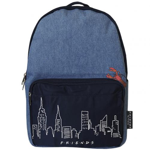 Friends Backpack Denim Lobster