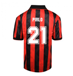 Score Draw AC Milan 1994 Retro Football Shirt (PIRLO 21)