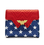 Wonder Woman Loungefly Metallic Faux Leather Wallet