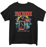 Rush Unisex Tee: Moving Pictures