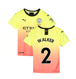 2019-2020 Manchester City Puma Third Football Shirt (Kids) (Walker 2)