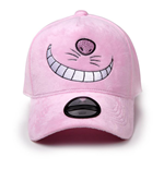 DISNEY Alice in Wonderland Cheshire Cat Curved Bill Cap, Unisex, Pink