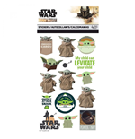 Star Wars The Mandalorian 4-Sheet Sticker Set