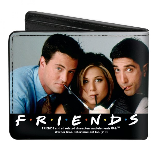 Friends Cast Milkshakes Wallet