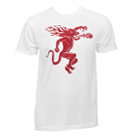 Fireball Whiskey Back and Front Print T-Shirt