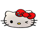 Hello Kitty Winking Patch