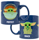The Mandalorian The Child Snack Attack Protect 20 Ounce Ceramic Mug