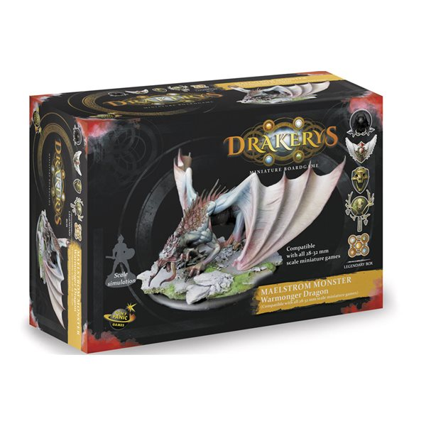 Drakerys Maelstrom Creature Dragon Board Game