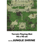 Drakerys Playing Mat D Jungle Shrine Mat For Game