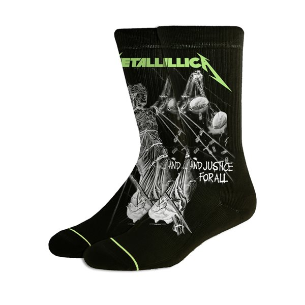Metallica Socks And Justice For All