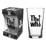 The Who Glassware Classic Logo (beer GLASS)