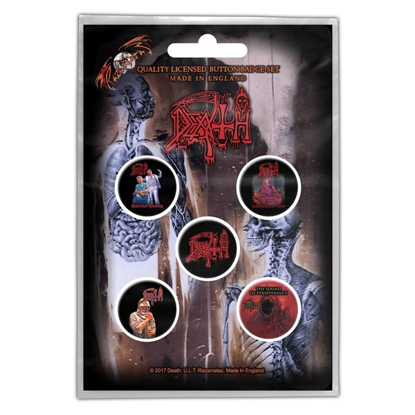 Death Pin Albums (button Badge SET)