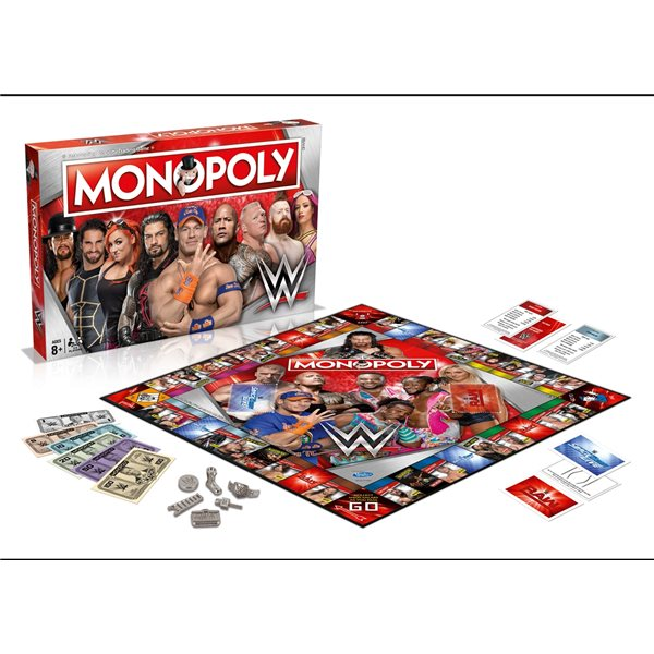 Wwe Refresh Board Game Wwe Refresh (MONOPOLY)