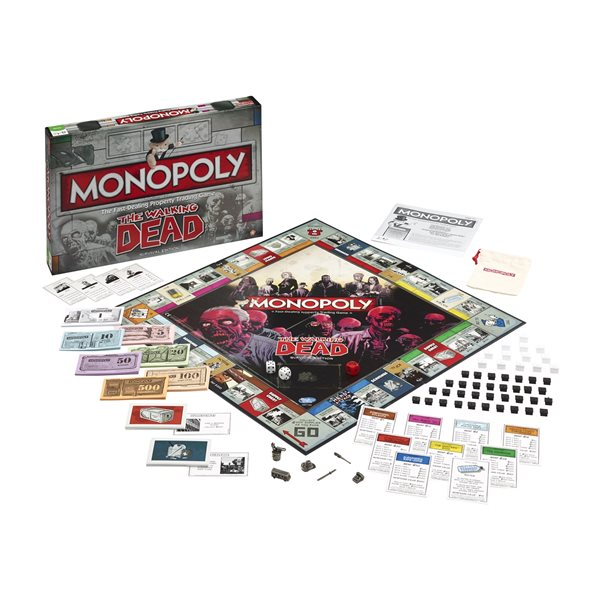 The Walking Dead Board Game Walking DEAD, The (MONOPOLY)