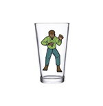 Universal Monsters Glassware Wolf Man (pint GLASS)