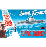Plan 9 From Outer Space Flying Saucer Mk Model Kit