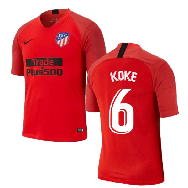 2019-2020 Atletico Madrid Nike Training Shirt (Red) (KOKE 6)