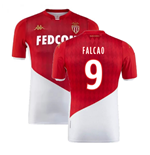 2019-2020 AS Monaco Kappa Home Shirt (FALCAO 9)