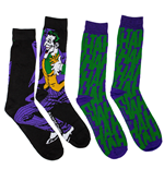 The Joker Standing and HaHa 2-Pack Crew Socks