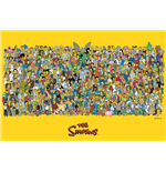 The Simpsons - Characters Maxi Poster