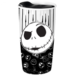 Nightmare Before Christmas Jack Skellington 16 Ounce Ceramic Travel Mug