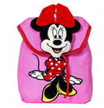 Disney Girl's Mickey Mouse  and  Friends Minnie Mouse Plush Backpack
