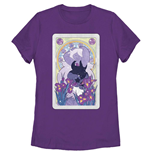 Steven Universe Amethyst Card Purple T-Shirt