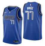 Men's Dallas Mavericks Luka Doncic Nike Rayal Icon Edition Swingman Jersey