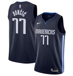 Men's Dallas Mavericks Luka Doncic Nike Navy Statement Edition Swingman Jersey
