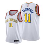 Men's San Francisco Warriors Klay Thompson Nike White Classic Edition Swingman Jersey