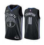 Men's Golden State Warriors Klay Thompson Nike Black City Edition Swingman Jersey