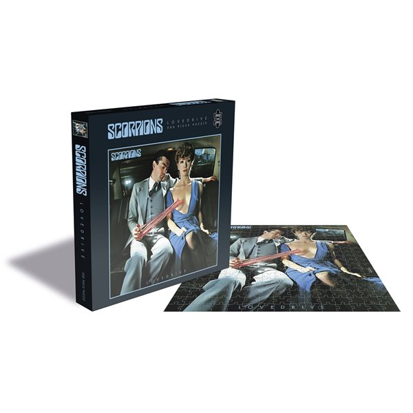 Scorpions Puzzle Lovedrive (500 Piece Jigsaw PUZZLE)
