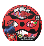 MIRACULOUS Children's My Activity Set with 75pc Creative Accessories Set, Ages Three Years or Above, Unisex, Multi-colour
