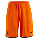 2019-2020 Newcastle Third Football Shorts (Orange)