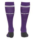 2018-2019 Arsenal Away Goalkeeper Socks (Purple)