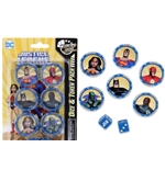 Dchc Justice League Unltd Dice & Token Wargame