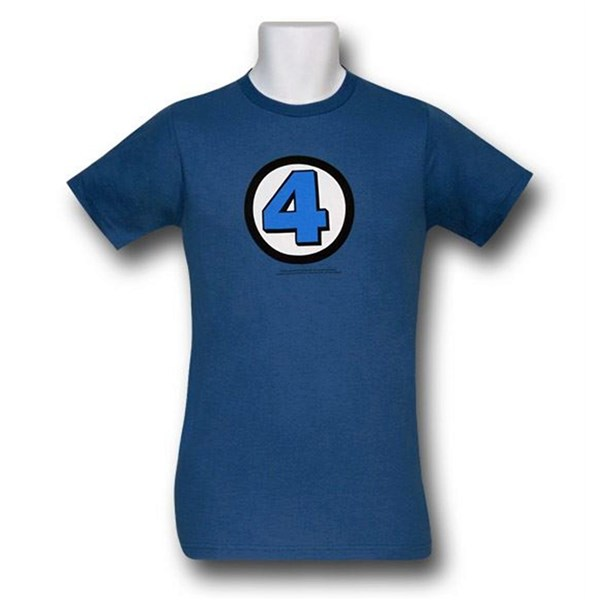Fantastic Four Symbol (30 Single) T-Shirt