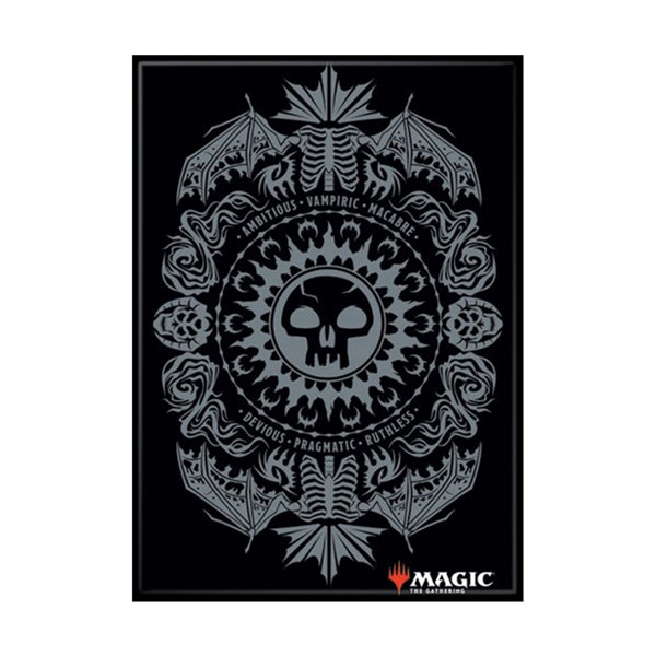 Magic the Gathering Black Mana Symbol Card Magnet