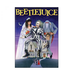 Beetlejuice Movie Poster Carded Magnet