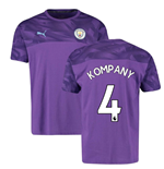 2019-2020 Manchester City Puma Casuals Tee (Purple) (Kompany 4)