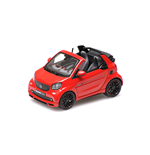 SMART BRABUS ULTIMATE 125 CABRIOLET RED 2017