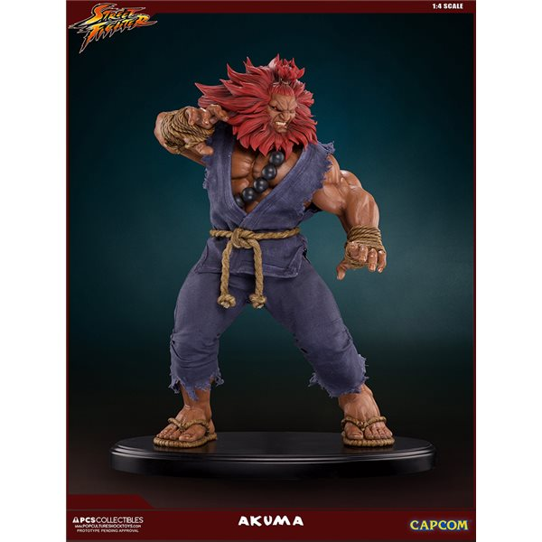 Street Fighter Akuma 10TH Anniversary St Statue