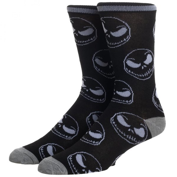Nightmare Before Christmas All Over Print Crew Socks