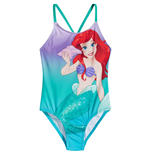 The Little Mermaid Ariel One Piece Swimsuit with Color Changing Scales