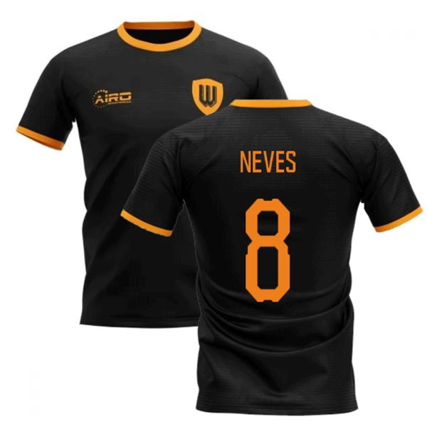 2019-2020 Wolverhampton Away Concept Football Shirt (Neves 8)