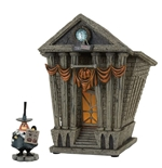 Nightmare Before Christmas Statue Halloween Town City Hall 22 cm