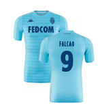 2019-2020 AS Monaco Kappa Third Shirt (FALCAO 9)