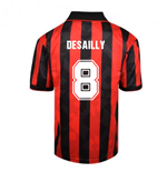 Score Draw AC Milan 1994 Retro Football Shirt (DESAILLY 8)